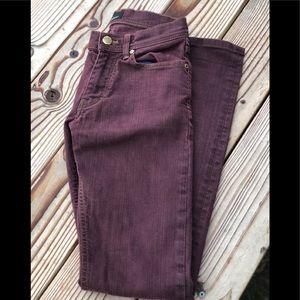 Black Tag by ZARA MAN plum denim jeans size 29